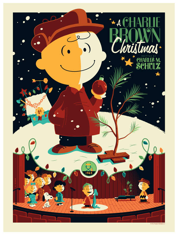 peanuts: charlie brown christmas by strongstuff
