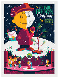 peanuts: charlie brown christmas variant by strongstuff