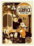 mondo: mickey's serice station var