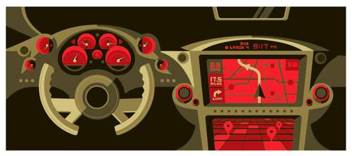 fortune: hi-tech dashboard by strongstuff