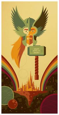 double rainbow bridge poster