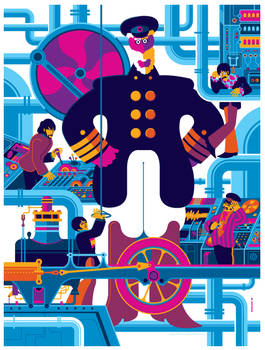 beatles: yellow submarine: sub interior variant