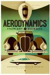 petersen automotive museum: aerodynamics poster