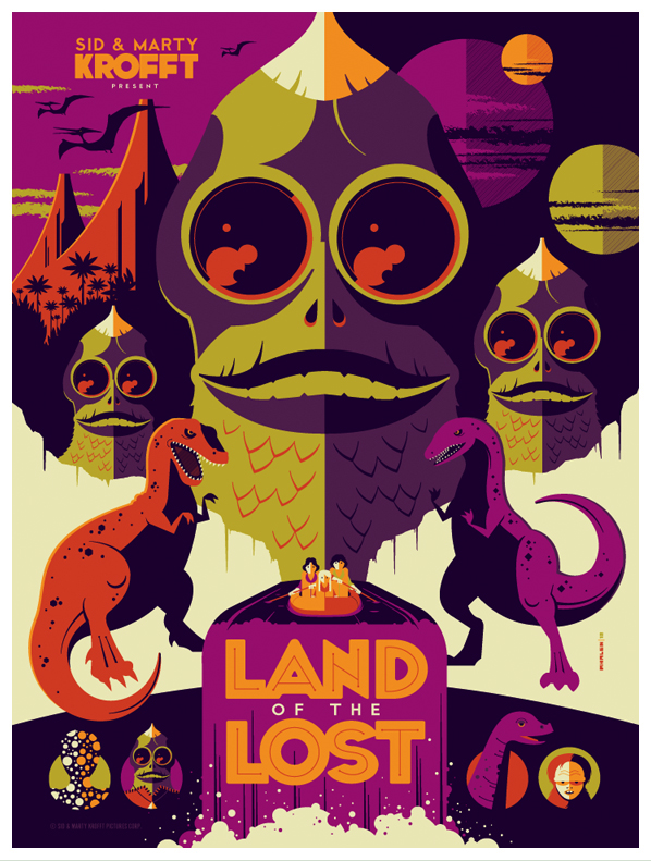 sid + marty krofft: land of the lost variant by strongstuff