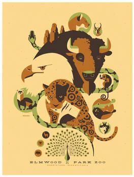 elmwood zoo poster