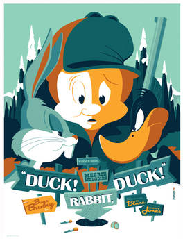 mondo: duck! rabbit, duck! by strongstuff