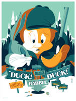mondo: duck! rabbit, duck! by strongstuff