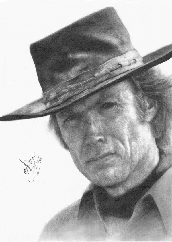 Clint Eastwood by Aundar
