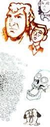 Sketch Dump by tre-tokyo