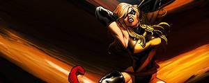 Ms. Marvel by hizachan