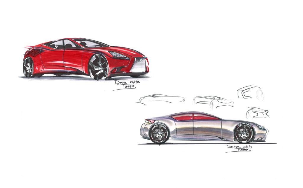 Lexus IS Design Contest by uclanaktoro22