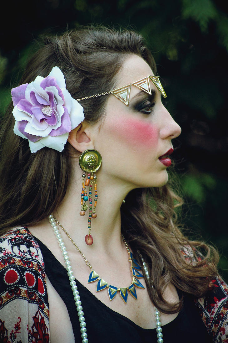 traditional tattoo gipsy make up i by margheritaleva on