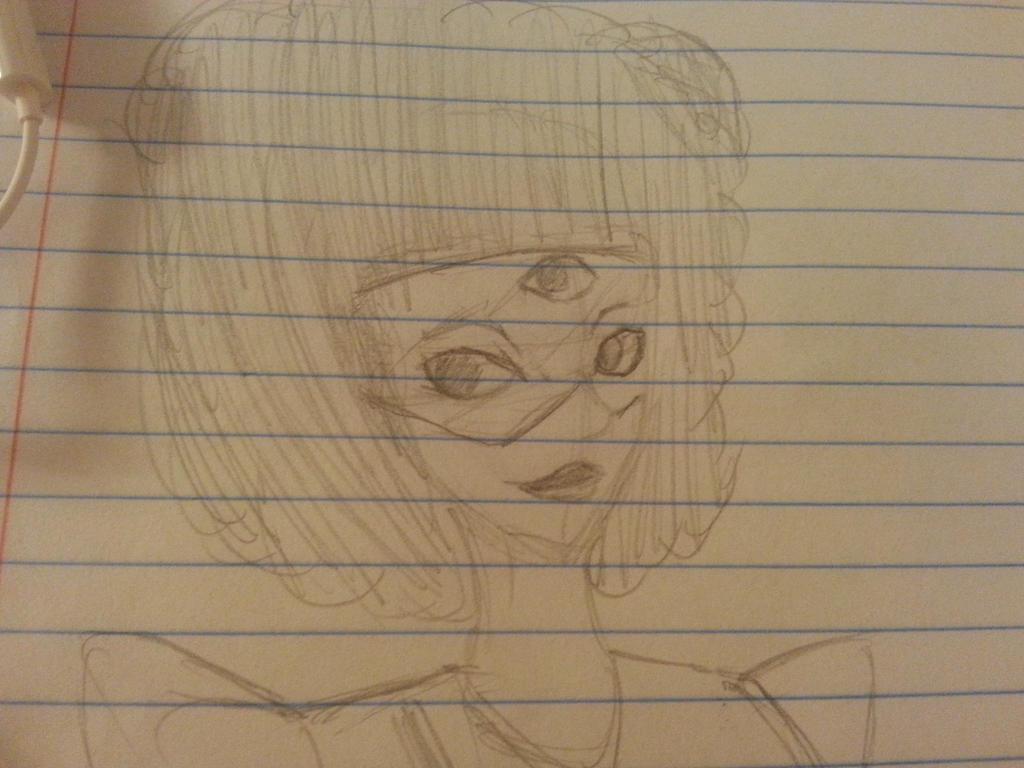 Garnet sketch  by zeldacreeper