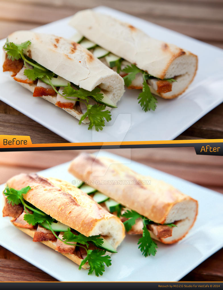 Retouch of Baguette by M-O-Z-G