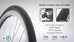 Front Wheel for City Bike