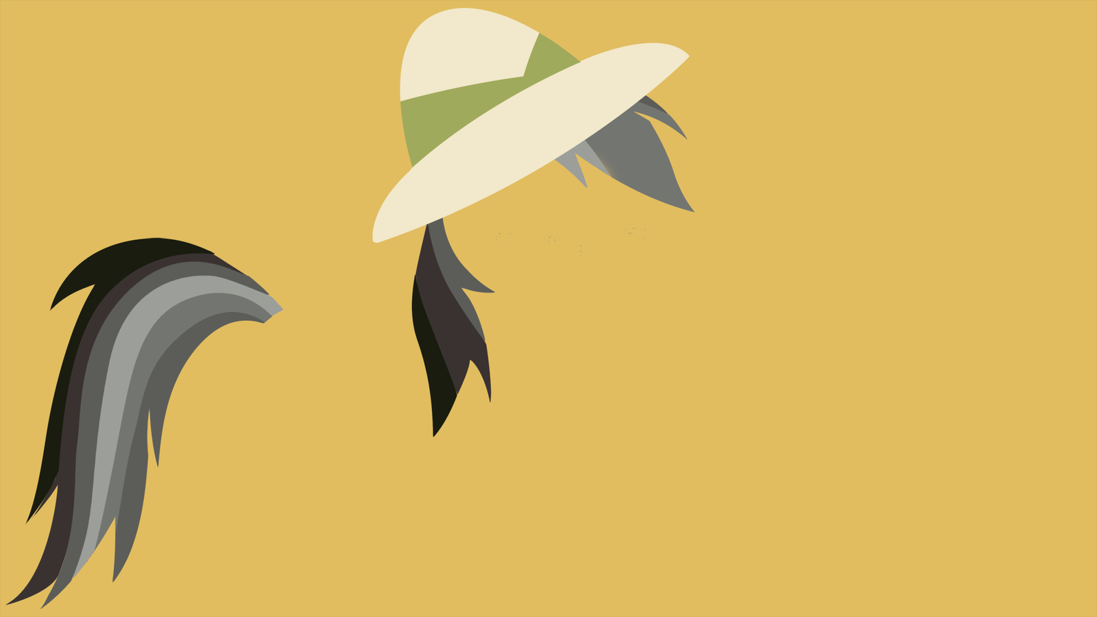 My Minimal Pony: Daring Do by UtterlyLudicrous