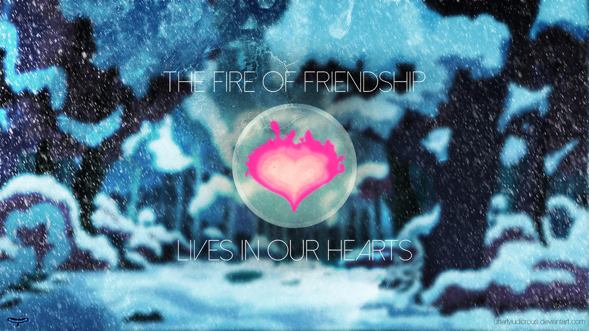 WOTW Submission: The Fire of Friendship by UtterlyLudicrous