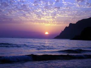 The Purple Sunset