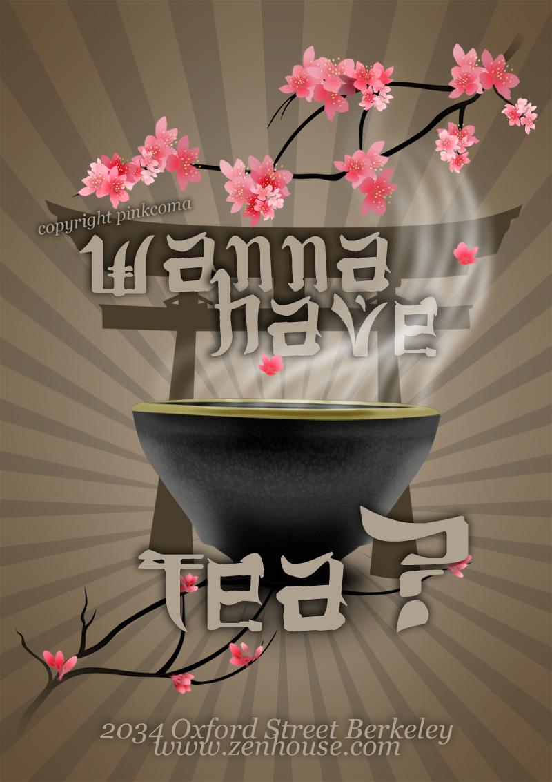 Wanna have tea? by pinkcoma