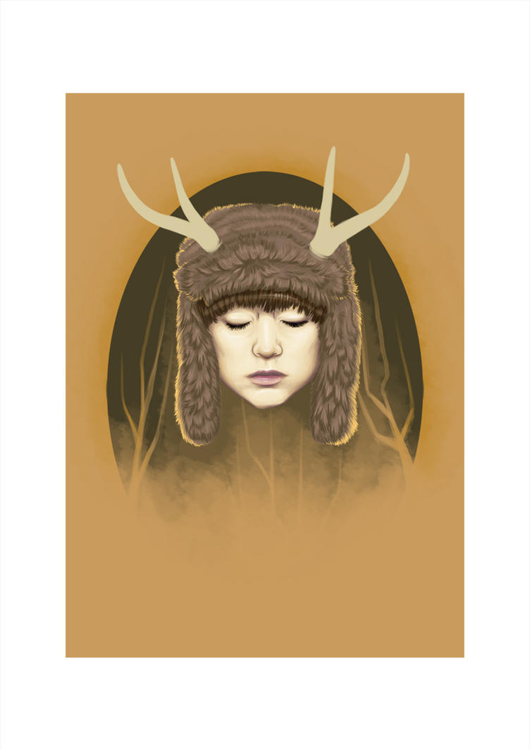 Deerhead by pinkcoma