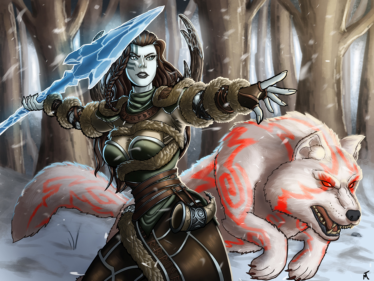 Winters Wrath Skadi by M-Katar