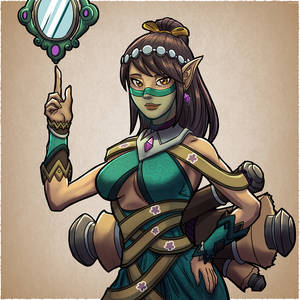 Ying the Illusionist mage