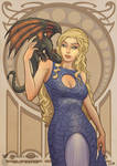 Daenerys Art Nouveau