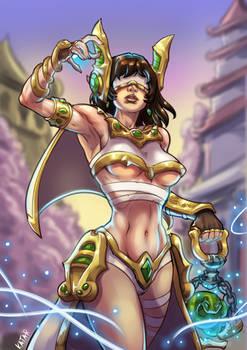 Jade Priestess Seris