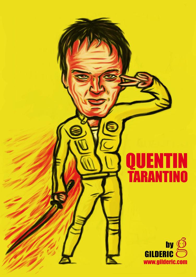 Quentin Tarantino FanArt Feliz cumple genio!