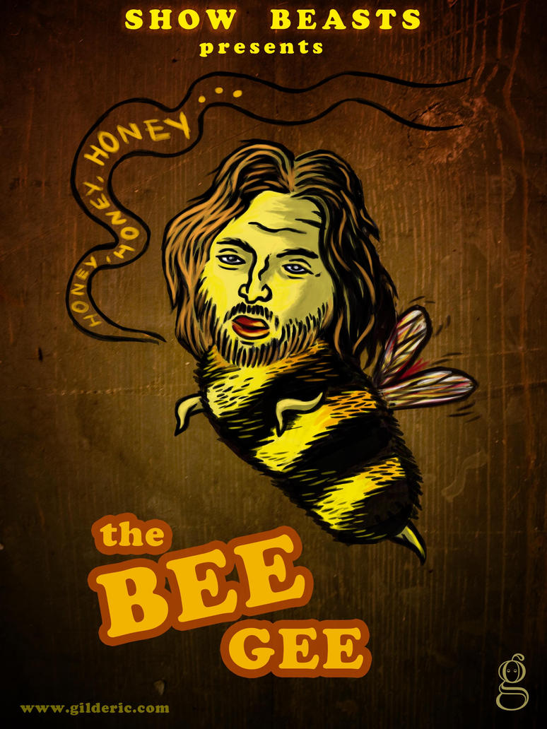 Show beasts the Bee Gee by gilderic