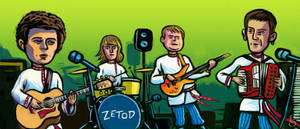 Zetod caricature for Unplugged