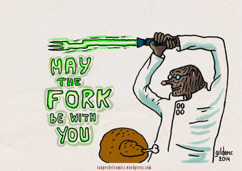 May the Fork Be With You !