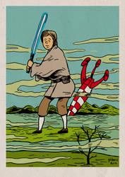 Tintin VS Star Wars : Tintin Skywalker