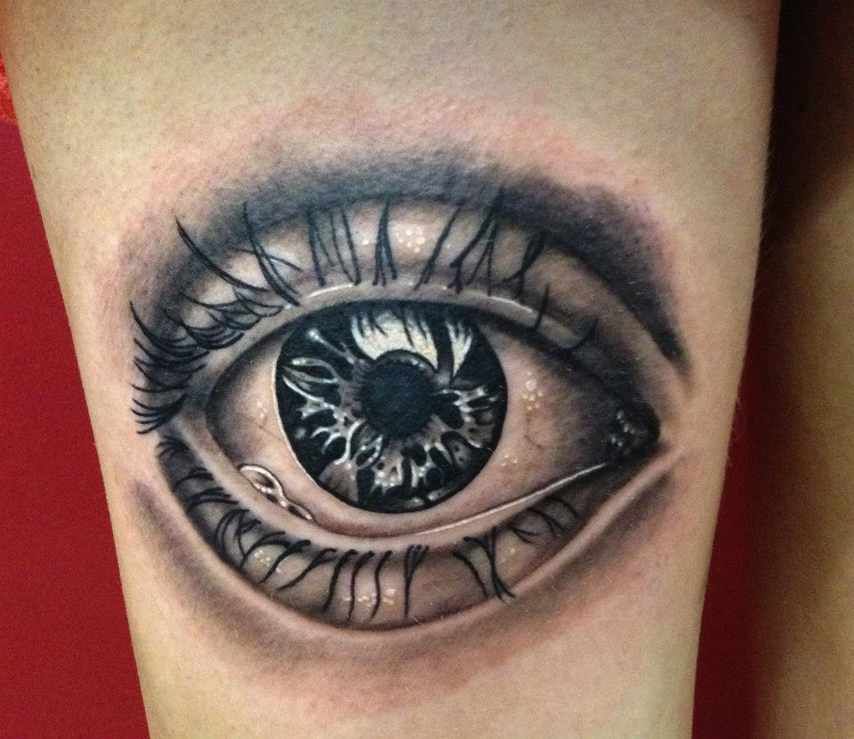 Eye Tattoo by DaneTattoo  Owl Eyes Tattoo