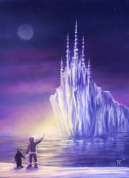 Castle of Ice by arisuonpaa