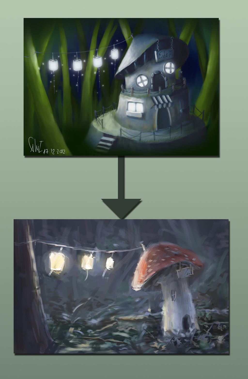 Paintover: Hidden Shop by arisuonpaa