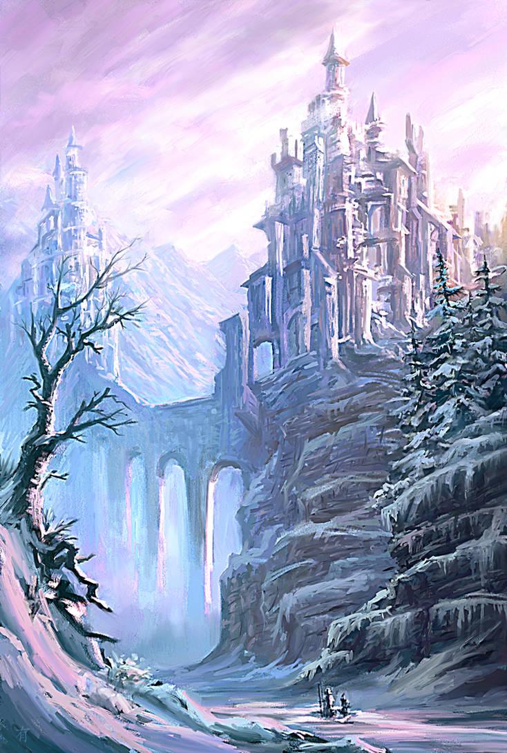Journey Through the Frost by arisuonpaa