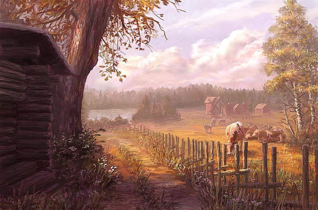 Farmy a pole Hazy_afternoon_by_arisuonpaa-d70lyoc