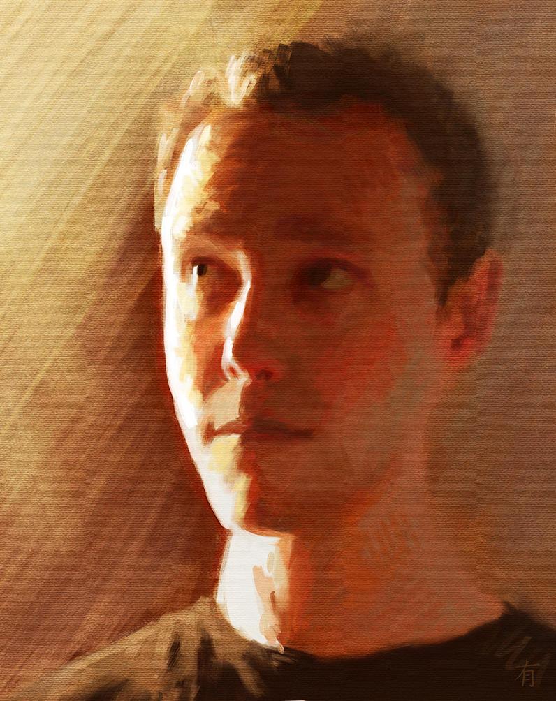 Self Portrait by arisuonpaa