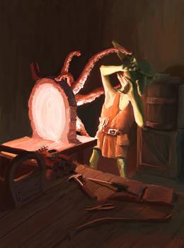 Goblin Teleport by arisuonpaa