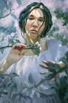 Beauty Among Blossoms by arisuonpaa