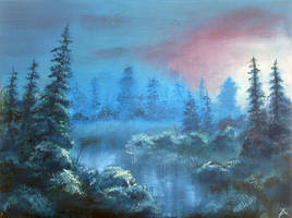 Blue Forest by arisuonpaa