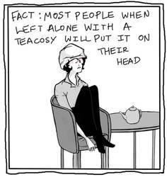 sherlock teacosy by pondicherry-baby
