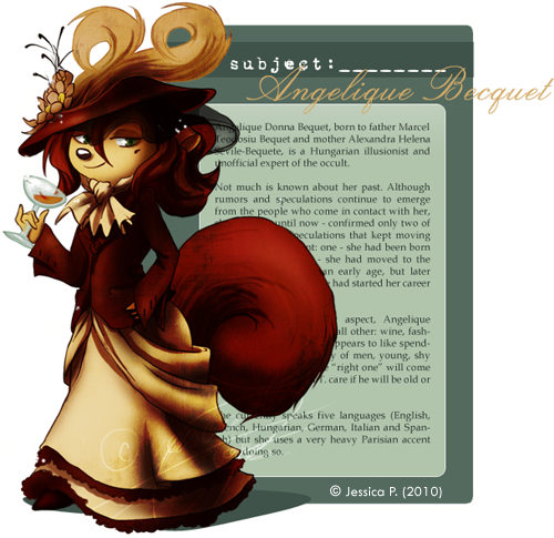 Mademoiselle Becquet by sycamoreleaf