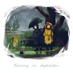 Raining in September