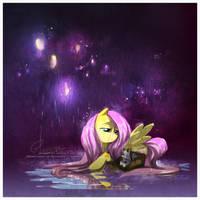 Gentle Rain by sycamoreleaf