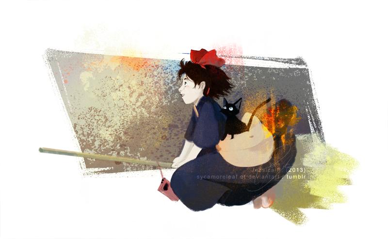 Kiki's Delivery Service by sycamoreleaf