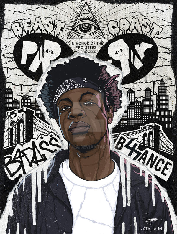 Joey Badass by Bokula