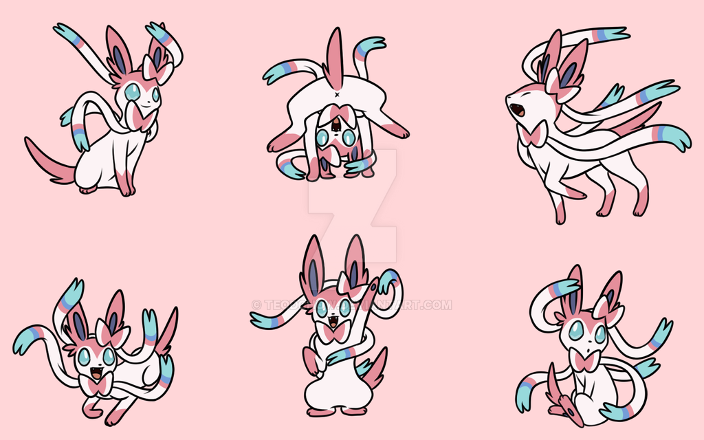 Sylveon Wallpaper By TeodChow
