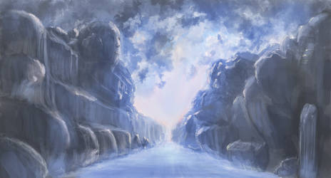 Ice road by HonezZz
